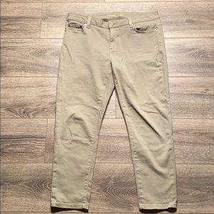 Michael Kors Izzy Skinny Cropped Jeans